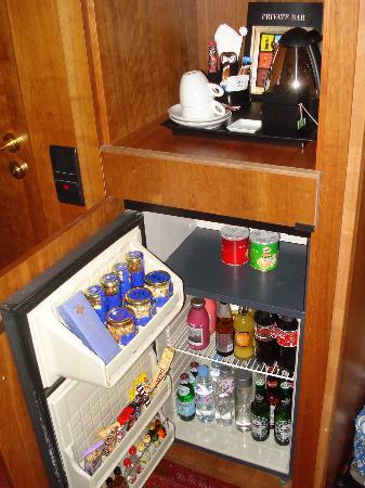 Fully Stocked Mini Bar