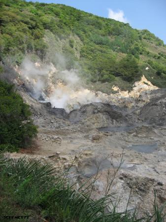 Soufrière, Saint Lucia: Volcano