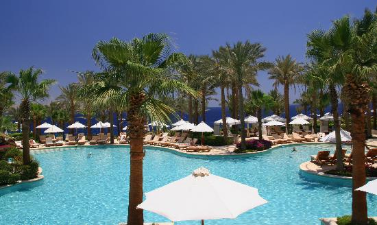 Four Seasons Resort Sharm El Sheikh: Piscine principale