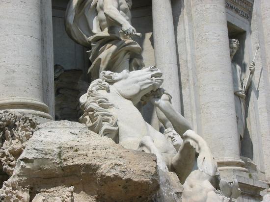 Domus Nova Bethlem: Detail of the Trevi Fountain