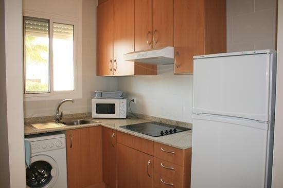 Las Dunas Apartamentos Turísticos: La cocina