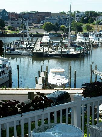 Carriage House at the Harbor: view from the outside deck