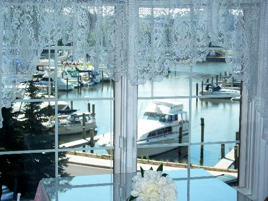 Carriage House at the Harbor: view from dining area