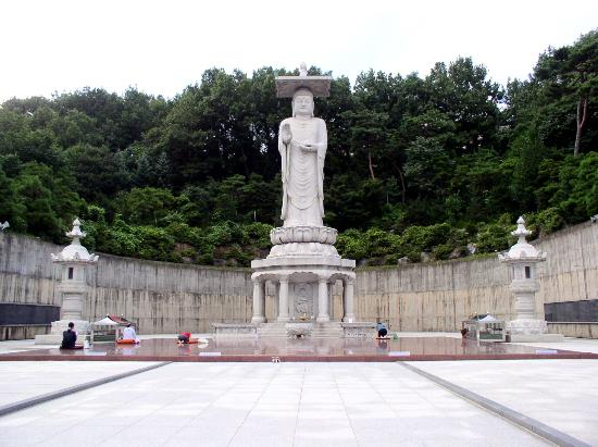 Grand InterContinental Seoul Parnas: Giant Buddha at Bongeunsa
