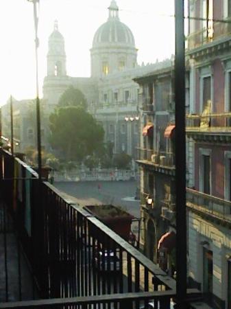 Hotel Savona: Vista desde balcon. Catedral. Pleno centro catania
