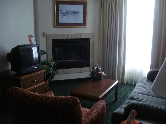 Residence Inn Cincinnati Airport: sitting area