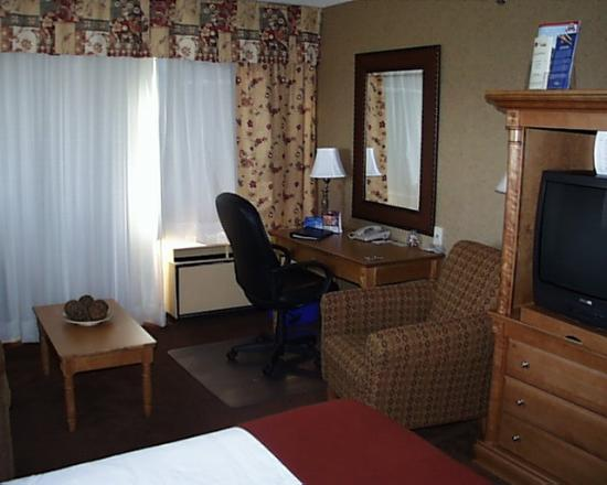 Holiday Inn Express & Suites - Saint John: My corner room at the Holiday Inn Express