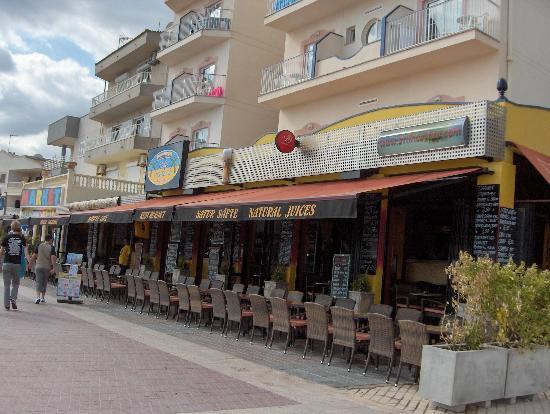 Hotel JS Horitzo: Restaurant-Bar Stil Horitzo