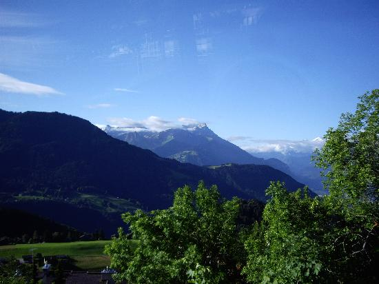 The Hiking Sheep (Aubergerie Villa La Joux): The view from the balcony