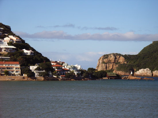 Isola Bella: view of Knysna heads