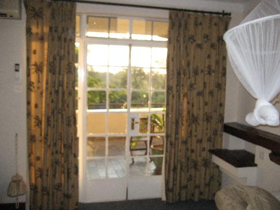 Ilala Lodge: Door to Shared Balcony