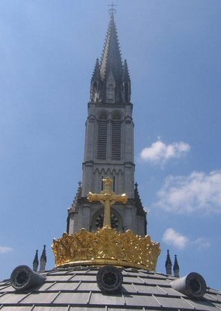 Lourdes, Francia: Gold Crown