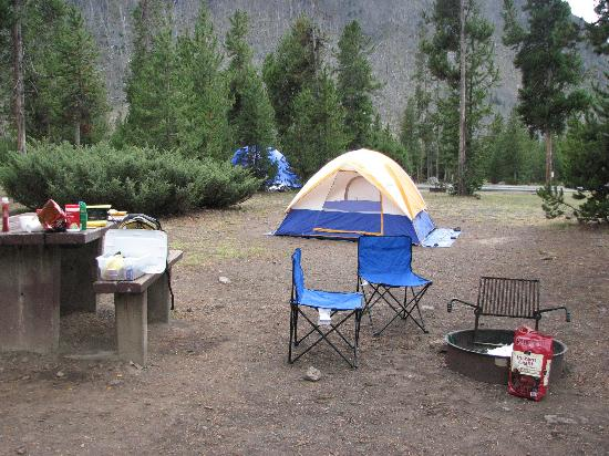 Madison Campground : Our Campsite