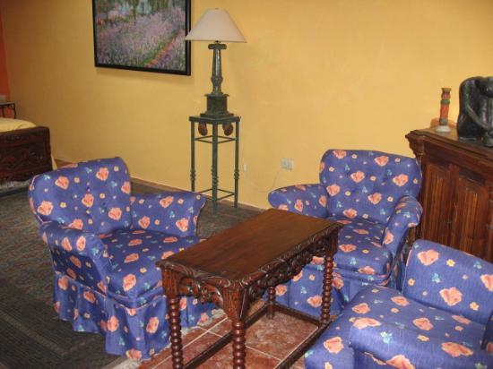Hotel Villa Maria : Suite upstairs bedroom