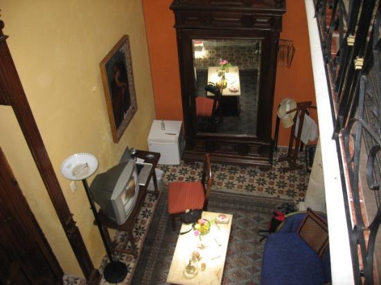 Hotel Villa Maria : Suite bedroom downstairs