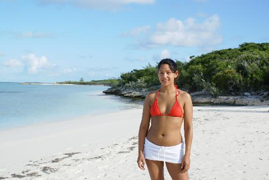 Great Exuma: stocking island beach