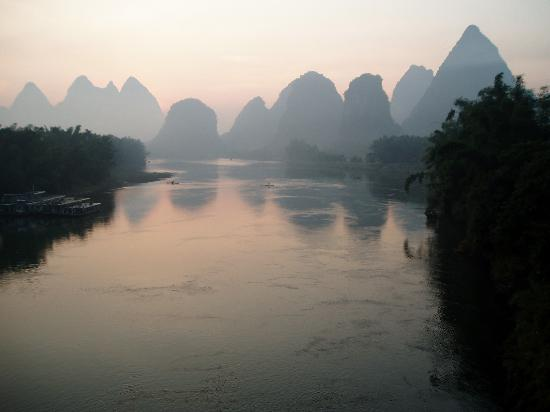 Yangshuo Culture House: Yangshuo sunrise