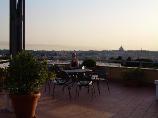 Terrasse Villa Borghese : Roof terrace Picture of Sofitel Rome Villa Borghese