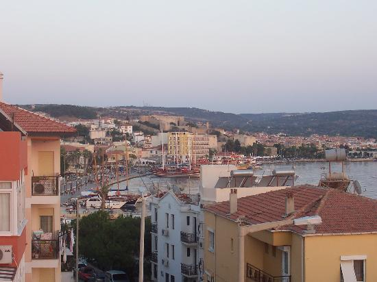 Otel Maro: View towards town from terrace