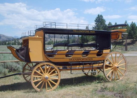 Roosevelt Lodge Dining Room: Stagecoach at Roosevelt Lodge