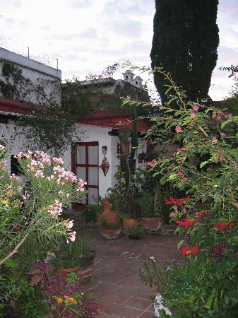 Casa Marie: Small room at the back of the garden