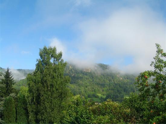 Vic-sur-Cere, فرنسا: La vue sur la montagne