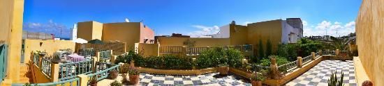 Dar Beldi : terrasse