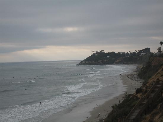 San Elijo State Beach Campground: The View