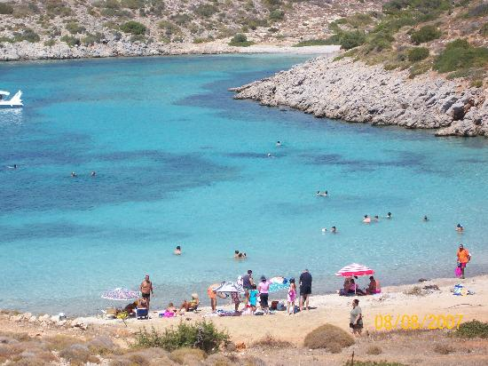 Karfas, Hellas: Ag. Dynamh Remote and isolated beach