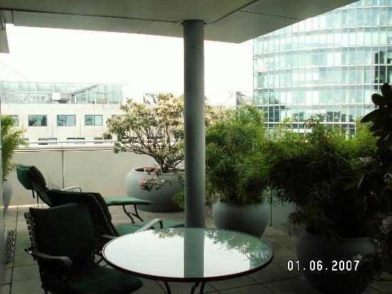 The Mandala Hotel: Balcony