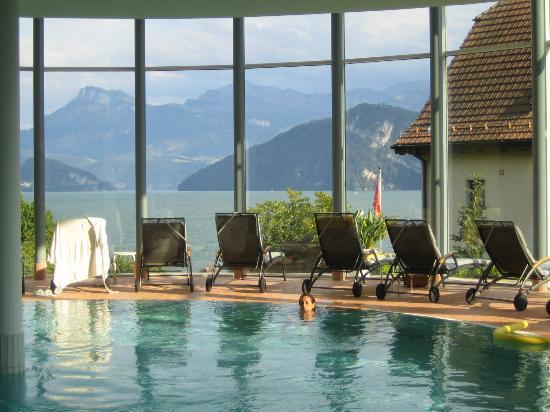 Hotel Gerbi: piscina cubierta