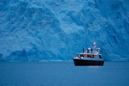 El Calafate, Argentina: Cruceros MarPatag face au glacier Spegazzini