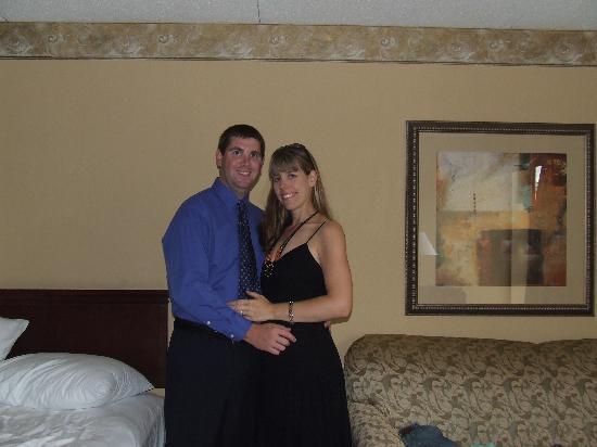 Hampton Inn Boston/Peabody: Here we are in the room