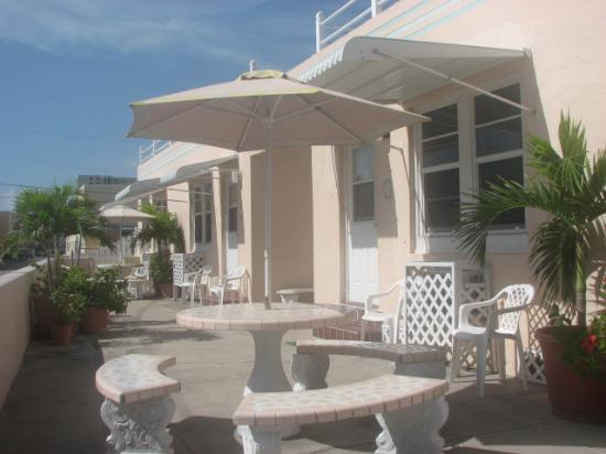 Atlantic Sands Beach Suites: this is the front of our unit