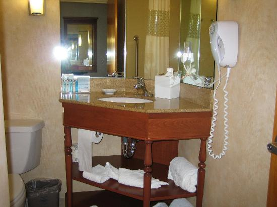 Hampton Inn Danbury: Bathroom
