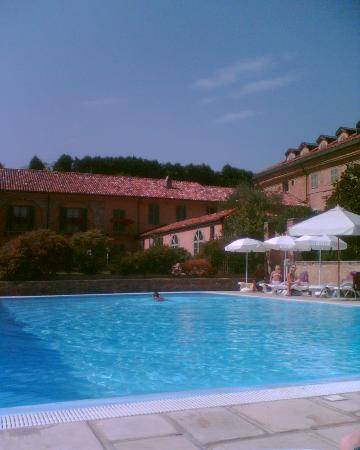 Penango, Italy: View from pool