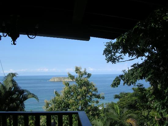 Hotel Costa Verde: view from our studio balcony