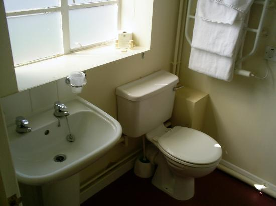 Feathers Inn: Basic Bathroom