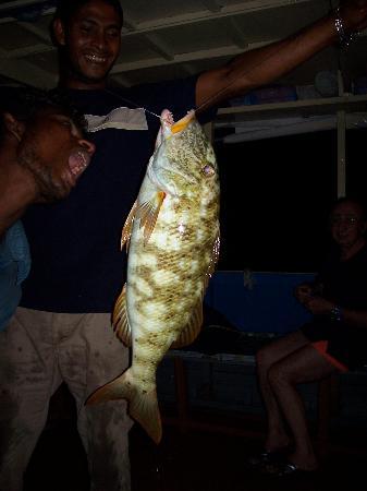 Adaaran Club Rannalhi: Pesca al Bolentino