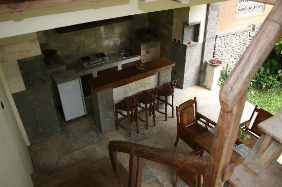 Villa Wanakerta: Suite - Anggrek - cuisine