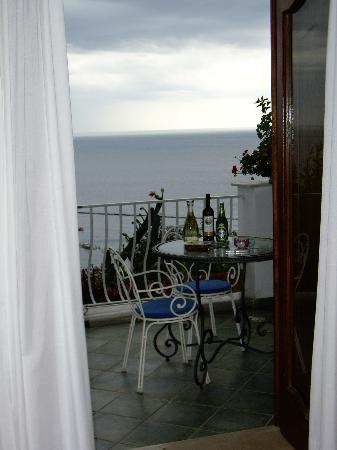 La Rosa Dei Venti: The balcony
