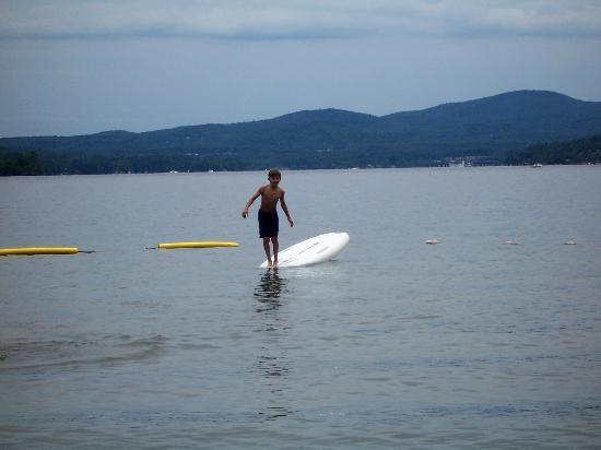 Canoe Island Lodge: Water Fun