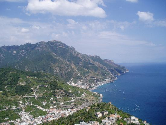 View Of Amalfi Coast From Ravello Picture Of Hotel Belair