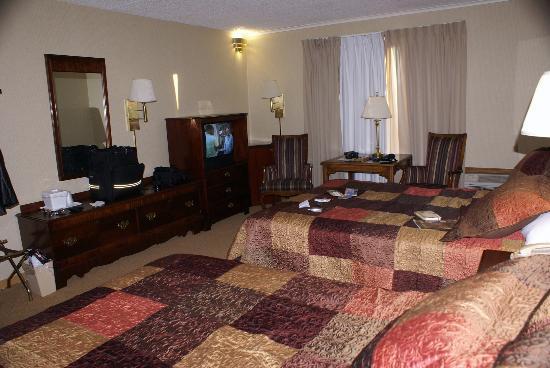 Foothills Inn: Room view