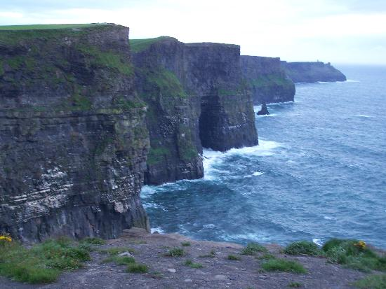 Lisdoonvarna, Ιρλανδία: Cliffs of Moher (8km vom Hotel)