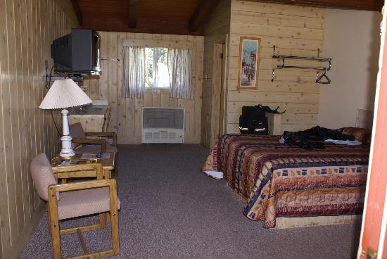 Cooke City High Country Motel and Cabins: Room View 1
