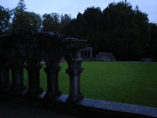 Hazel Grove B&B: Back of Cong Abbey a short walk from Ashford Castle and the Lake