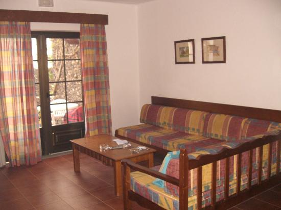 Rio Playa Blanca Hotel: sala de la casa
