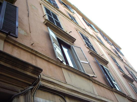 B&B University: our window from the outside