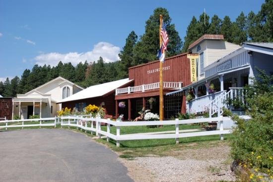 Colorado Trails Ranch: The central meeting point